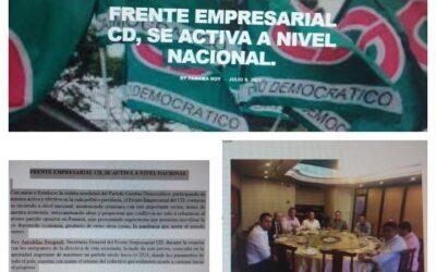 FRENTE EMPRESARIAL CD, SE ACTIVA A NIVEL NACIONAL